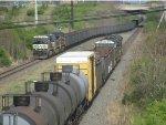 14G meets wb hopper train